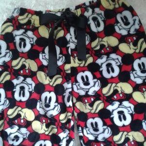 Disney Mickey pajama bottom Size small